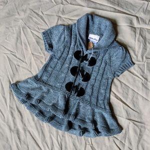 Short Sleeve Sweater Top EUC